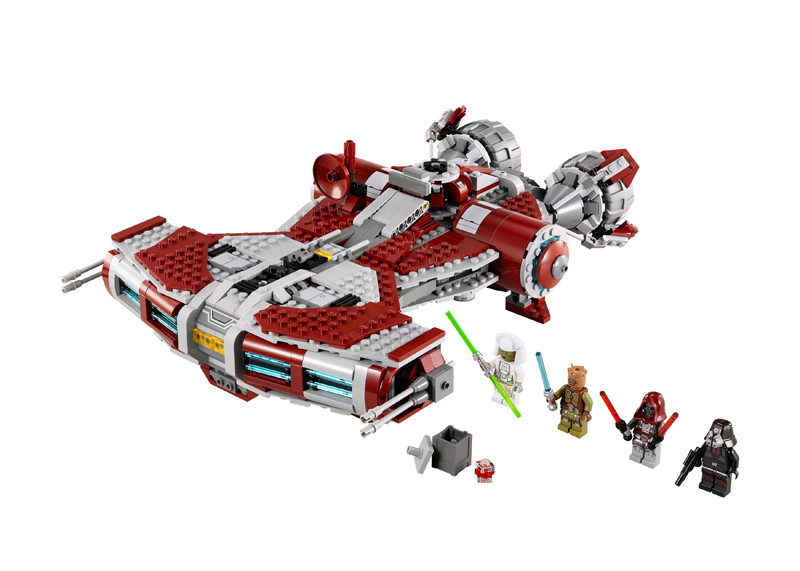 LEGO Star Wars The Old Republic 75025 Jedi Defender-class Cruiser