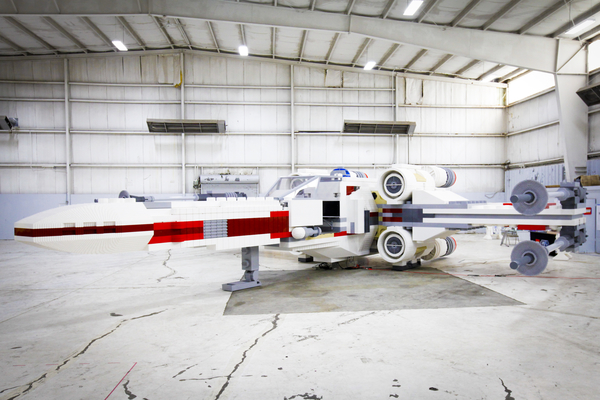 Worlds Largest LEGO Model - X Wing