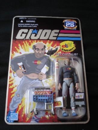 GI Joe Scalper Action Figure
