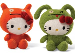 Hello Kitty Uglydoll