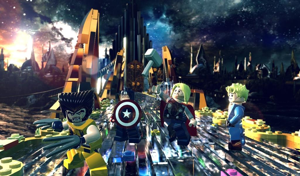 LEGO Marvel Super Heroes Screenshot