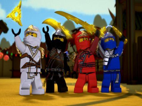 New LEGO Ninjago Movie