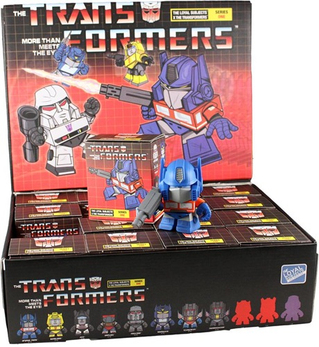 The Loyal Subjects - Transformers Minis