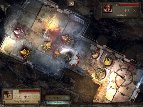 Warhammer Quest iOS Screenshot