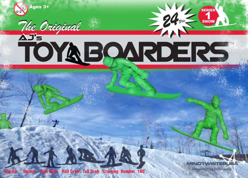 AJs Toy Snowboarders