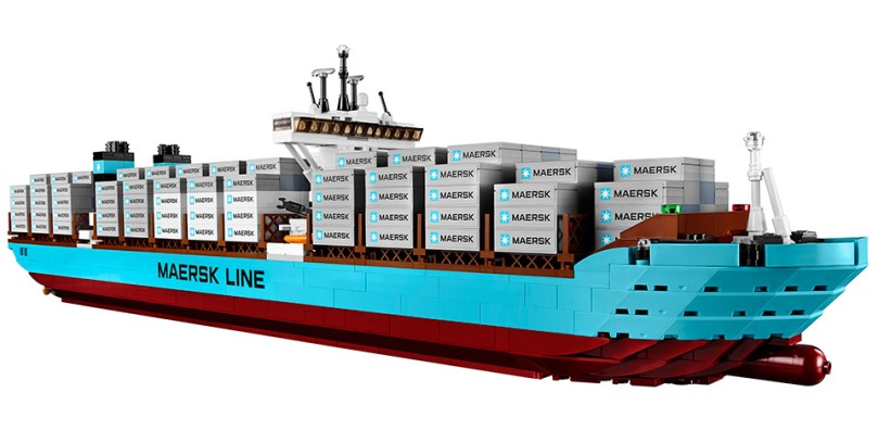 LEGO 10241 Maersk Container Ship