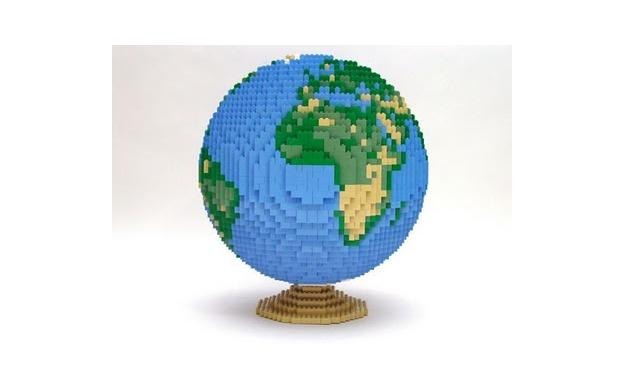 LEGO Earth Planet