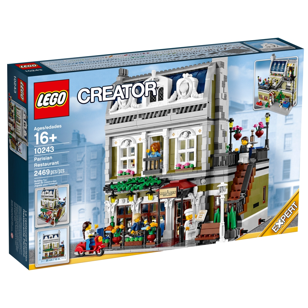 10243 LEGO Modular Building Parisian Restaurant