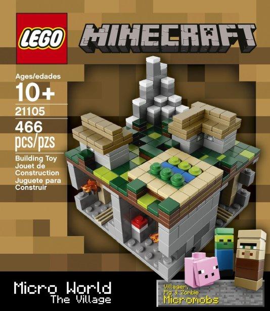 LEGO Minecraft 21105 Micro World The Village
