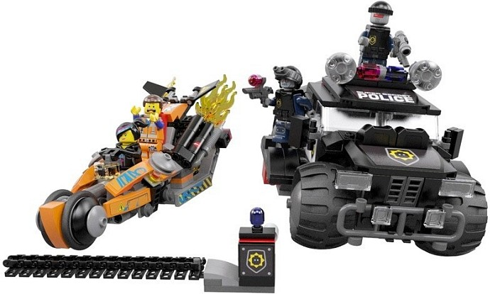 70808 Super Cycle Chase The LEGO Movie