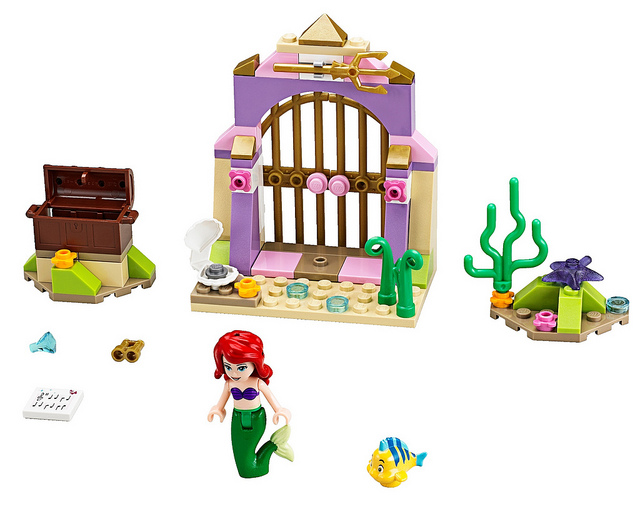 LEGO Disney Princesses 41050 Ariels Amazing Treasures
