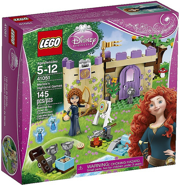 LEGO Disney Princesses 41051 Meridas Highland Games-Box