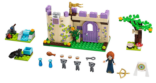 LEGO Disney Princesses 41051 Meridas Highland Games