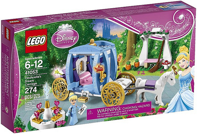 LEGO Disney Princesses 41053 Cinderellas Dream Carriage-Box