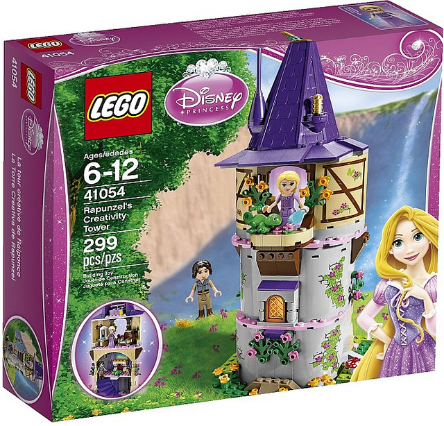LEGO Disney Princesses 41054 Rapunzels Creativity Tower-Box