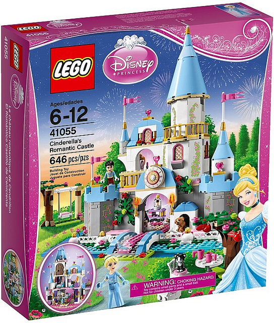 LEGO Disney Princesses 41055 Cinderellas Romantic Castle-Box