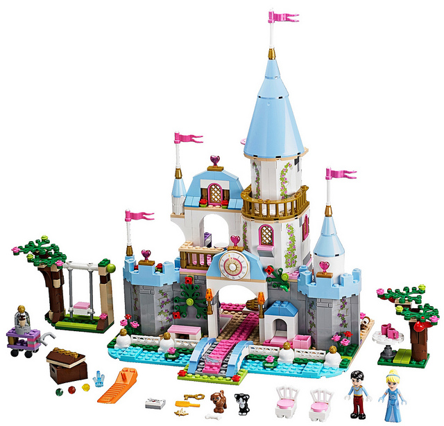 LEGO Disney Princesses 41055 Cinderellas Romantic Castle