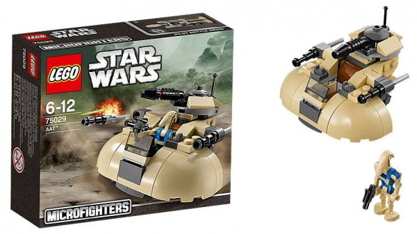 LEGO Star Wars AAT 75029 Microfighter