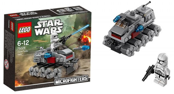 LEGO Star Wars Clone Turbo Tank Microfighter