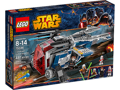 LEGO Star Wars Coruscant Police Gunship 75046 Box