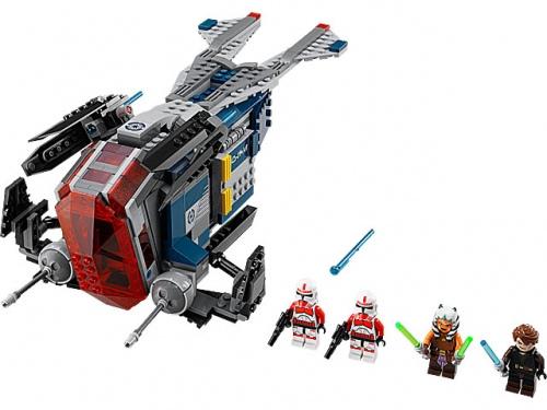 LEGO Star Wars Coruscant Police Gunship 75046