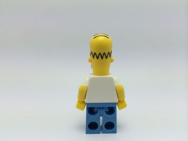 LEGO The Simpsons Homer Simpson Minifigure - Back
