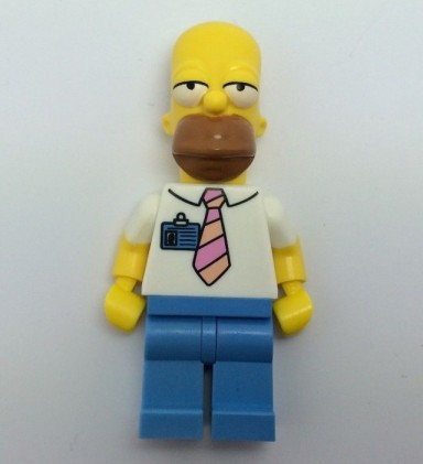 LEGO The Simpsons Homer Simpson