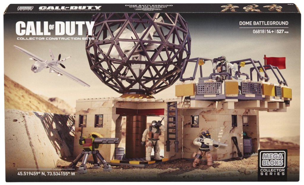 Mega Bloks Call of Duty Dome Battleground Collector Construction Set