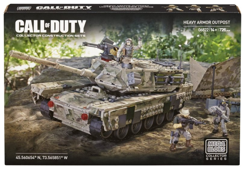 Mega Bloks Call of Duty Heavy Armor Outpost Collector Construction Set