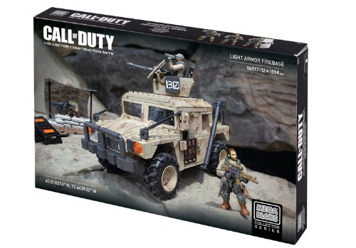 Mega Bloks Call of Duty Light Armor Firebase Collector Construction Set