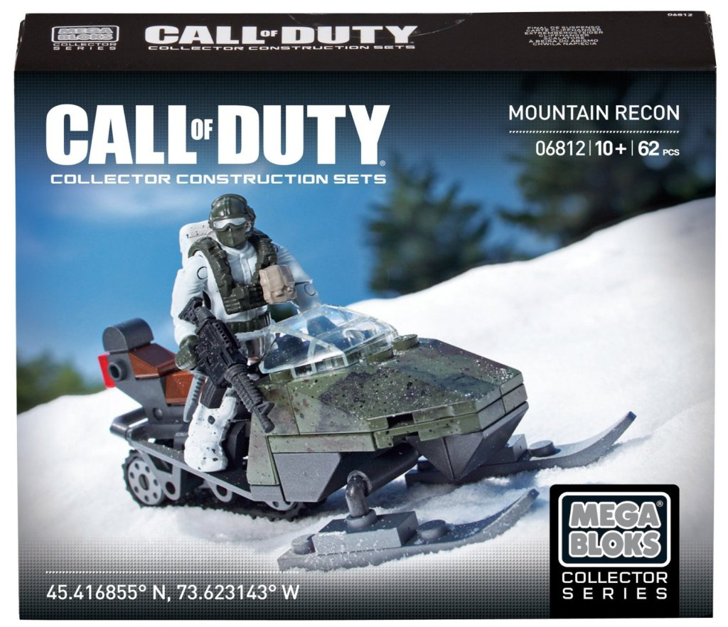 Mega Bloks Call of Duty Mountain Recon Collector Construction Set