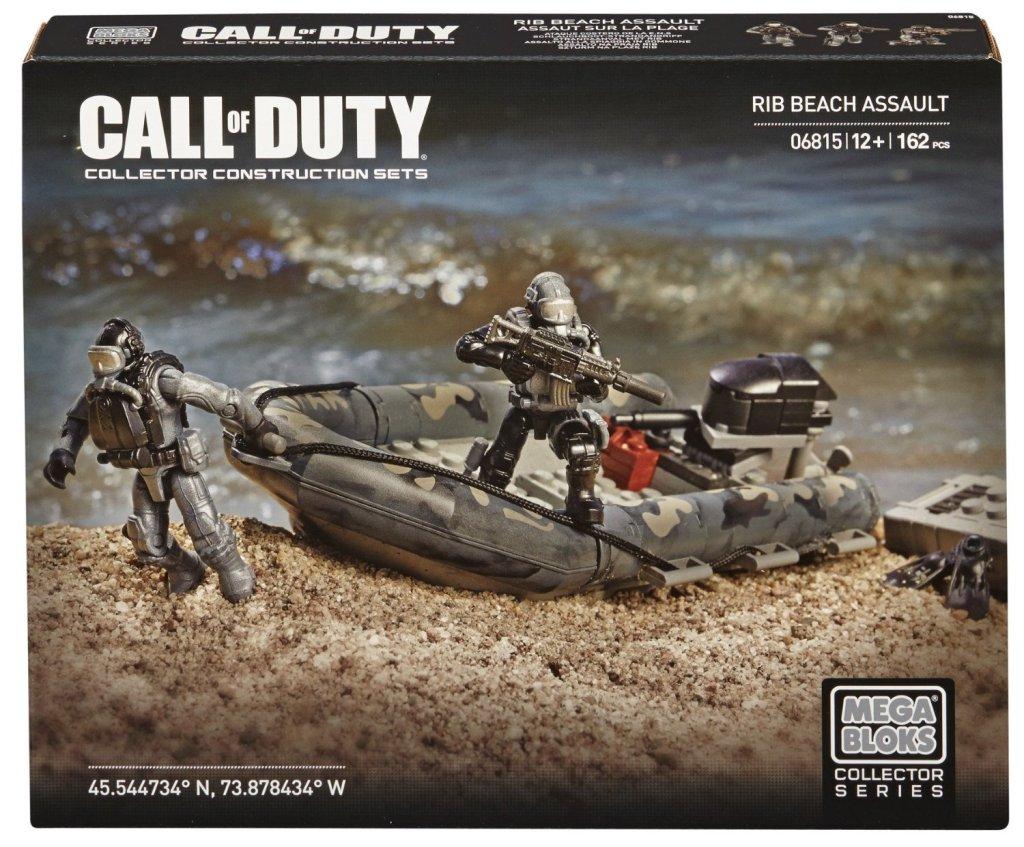 Mega Bloks Call of Duty RIB Beach Assault Collector Construction Set