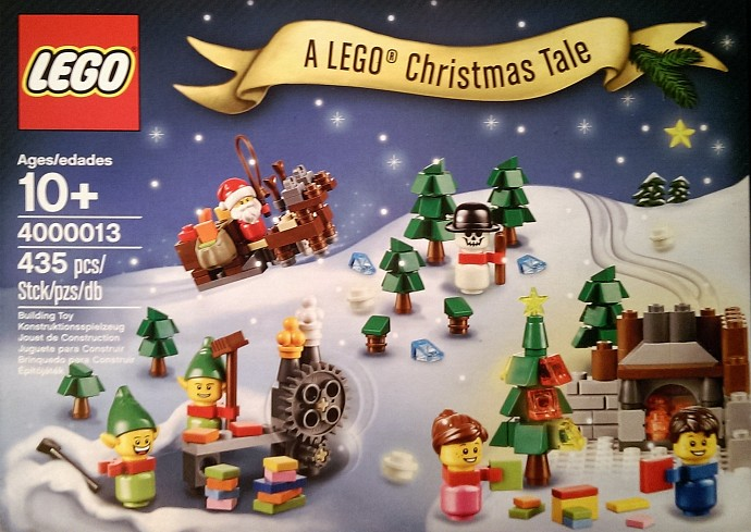 4000013 A LEGO Christmas Tale Set