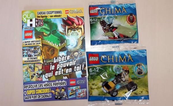 Gulli Heroes LEGO Legends of Chima Magazine