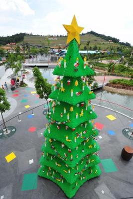 LEGO Christmas Tree LEGOLAND Malaysia