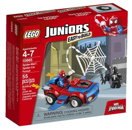 LEGO Juniors 10665 Spider-Man Spider-Car Pursuit
