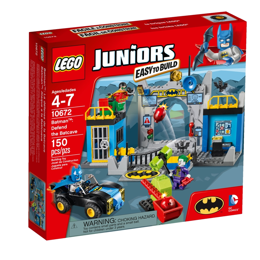 LEGO Juniors 10672 Defend the Batcave