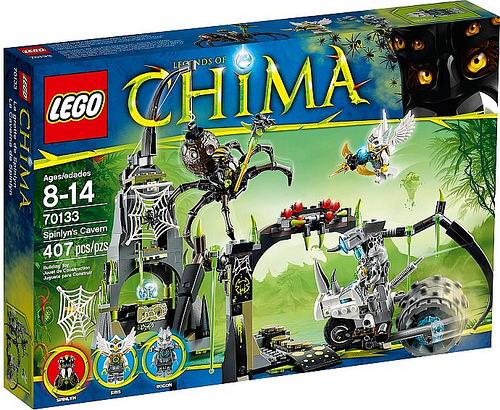 LEGO Legends of Chima 70133 Spinlyn's Cavern Box