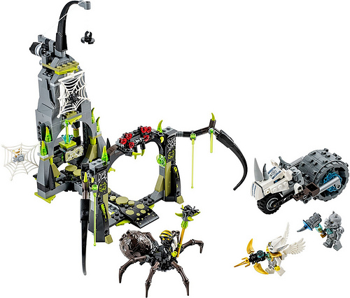 LEGO Legends of Chima 70133 Spinlyn's Cavern