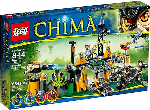 LEGO Legends of Chima 70134 Lavertus Outland Base Box