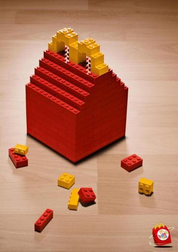 LEGO McDonalds Happy Meal