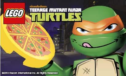 LEGO Teenage Mutant Ninja Turtles Logo
