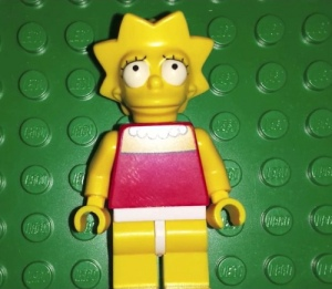 LEGO The Simpsons Lisa Minifigure
