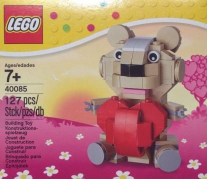 LEGO Valentines 40085 Teddy Bear-2014