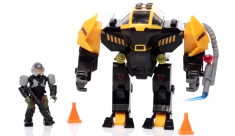 Mega Bloks Halo Hazard-yellow Offworld Cyclops