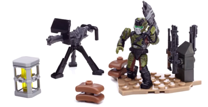 Mega Bloks Halo UNSC Weapons Pack