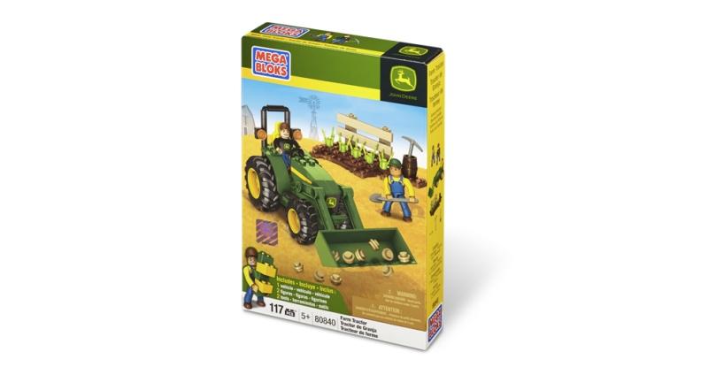 Mega Bloks John Deere Farm Tractor Box