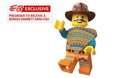 The LEGO Movie Video Game Emmett Minifigure