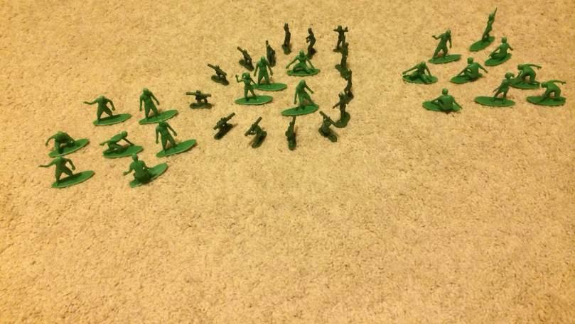 AJs Toy Boarders Vs Green Plastic Army Men - 6