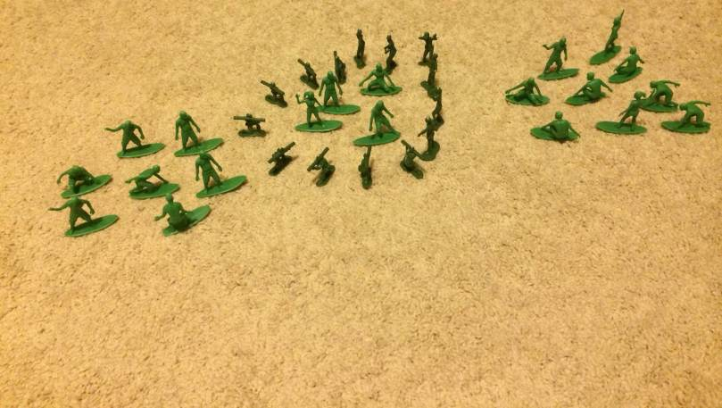 AJs Toy Boarders Vs Green Plastic Army Men - 6
